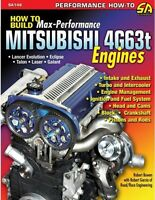 How To Build Max Performance Mitsubishi 4g63t Engine Book