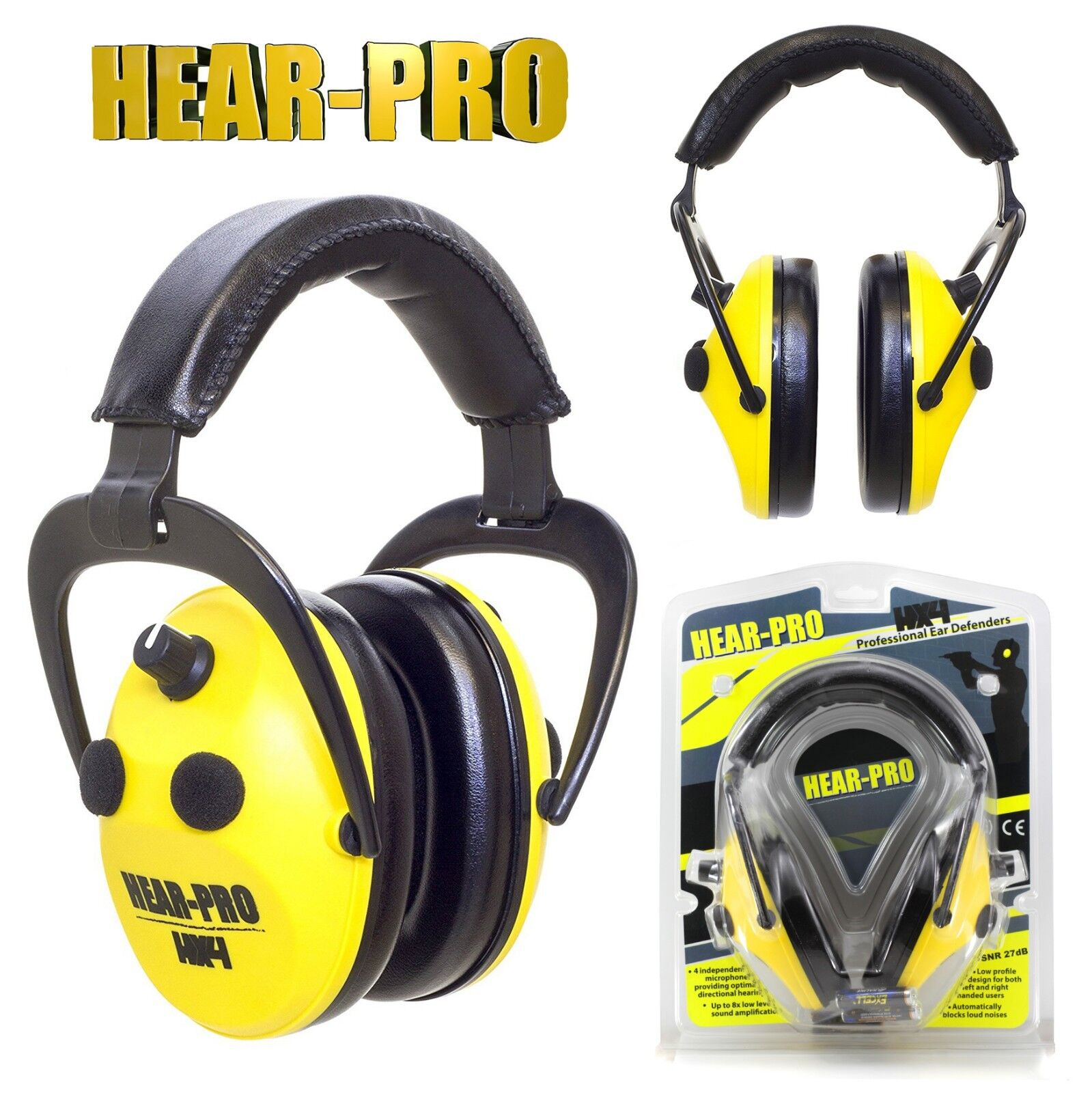 HEARING PredECTION   ELECTRONIC EAR DEFENDERS for SHOOTING HUNTING DIY 27dB SNR