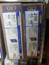 1 Square D Main Breaker Box 3r Outdoor Qo140m200prb Load Center 200a 1phase 240v