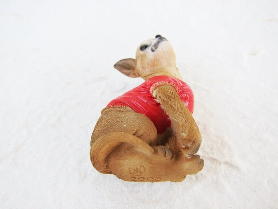 CHIHUAHUA Dog Fridge Magnet 3D Memo Holder Souvenir Gifts Resin Refrigerator
