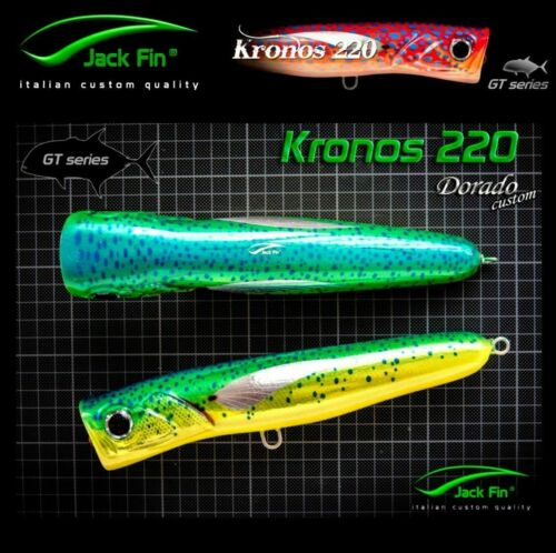Jack Fin Handmade Ultimate Popper Gt Serie Kronos 220