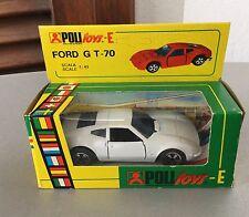 VINTAGE#Polistil Ford GT 70 Politoys E31#NIB 1:43