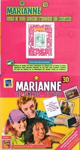 CARNET-4021-NEUF-XX-LUXE-MARIANNE-LES-TIMBRES-ET-VOUS-ARTICLE-RARE