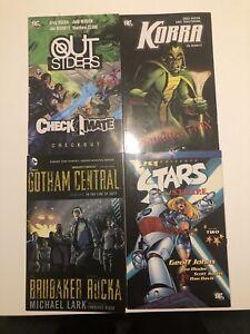 Dc-Comics-Graphic-Novel-Tpb-Lot