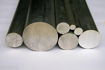 "Aluminium Round Bar 7//8/"" Dia x 500mm  HE30"
