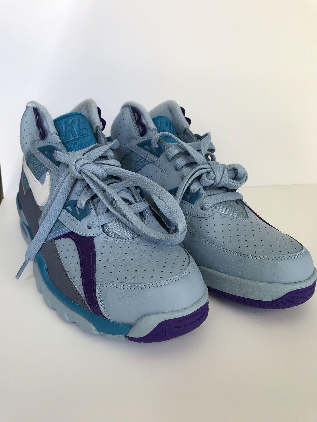 Nike air trainer sc bo jackson blu, bianco e turquiose scorpe 7,5