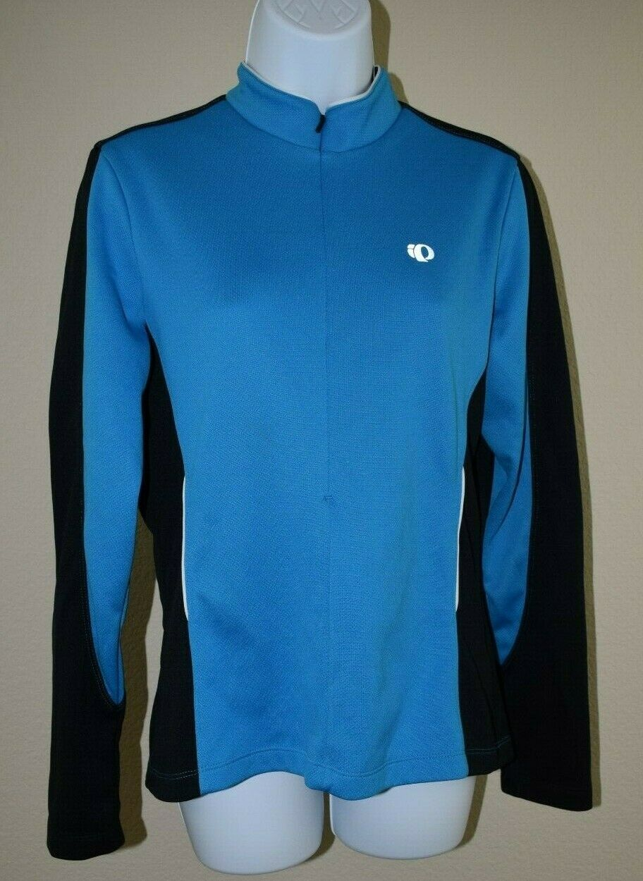 Pearl Izumi Select Cycling Jersey Women's bluee Long Sleeve Size L Excellent