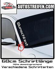Frontscheibenaufkleber Wunschlogo Auto Aufkleber Sticker Wunschtext Tuning