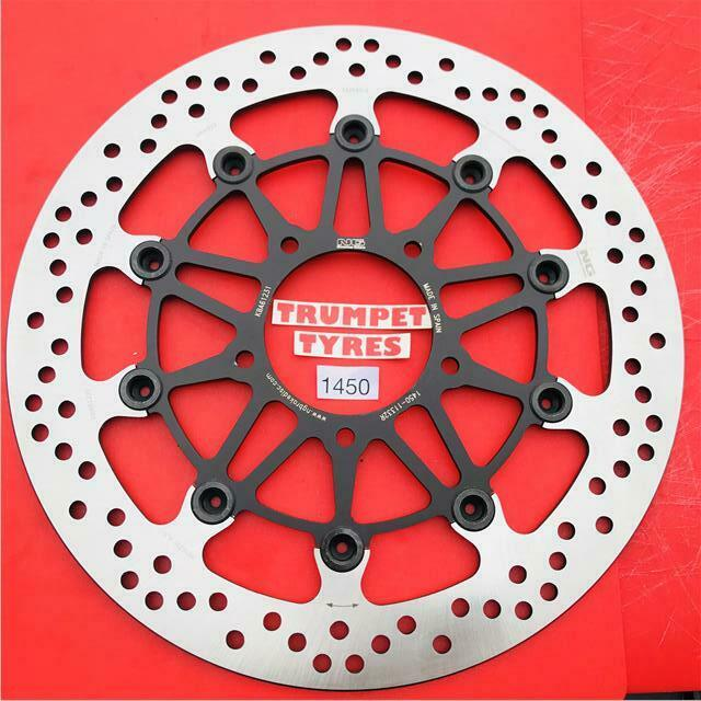 MV AUGUSTA 800 RIVALE 12 - 17 NG FRONT BRAKE DISC EO QUALITY UPGRADE 1450