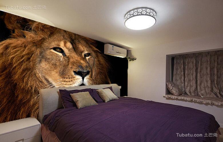 3D Löwen 86 Tapete Wandgemälde Tapete Tapeten Bild Familie DE Summer