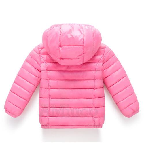 Winter Ski Suit Girls Boys Warm Hooded Outerwear Jacket Children Snowsuit Coats