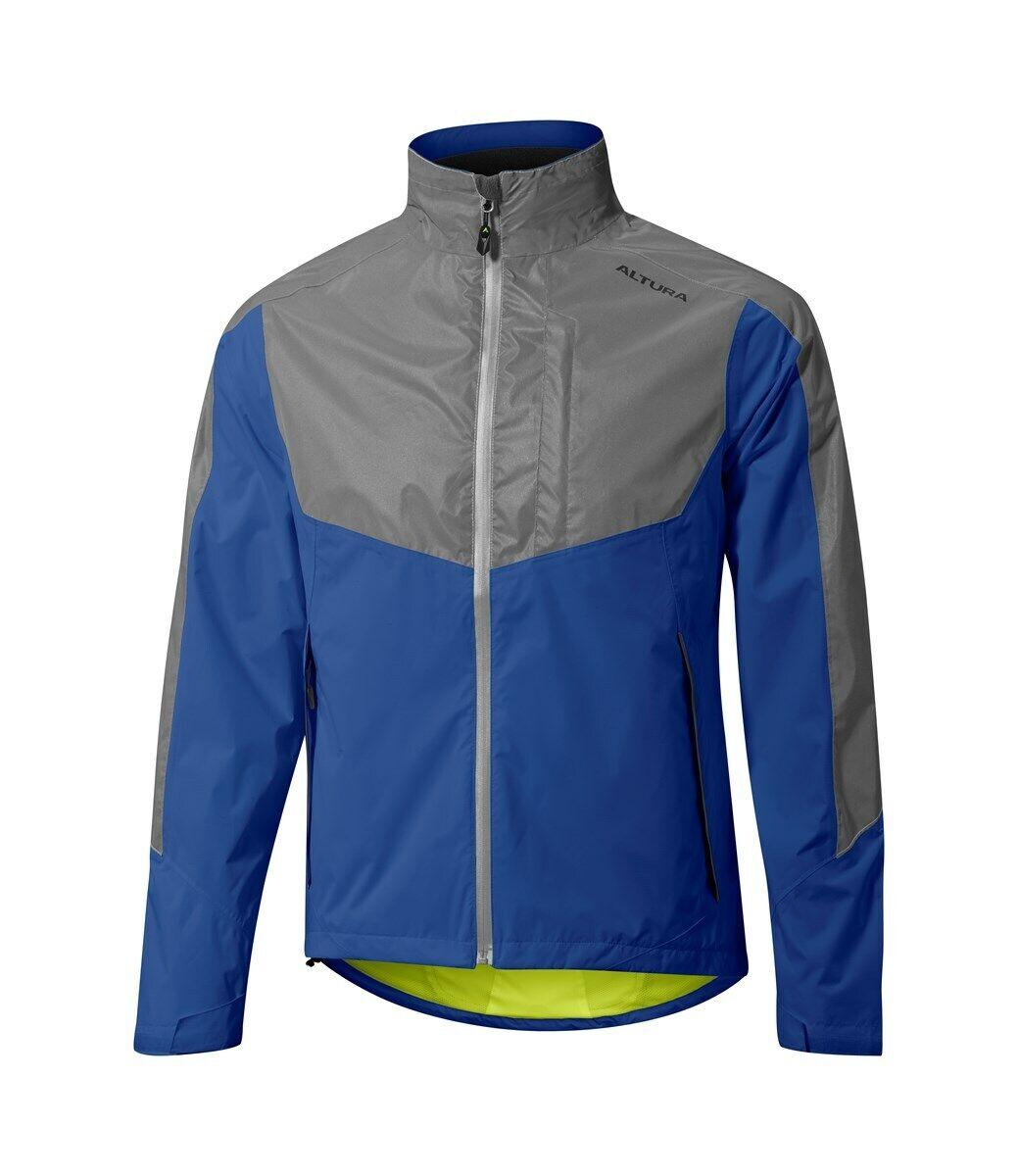 Altura Night Vision Evo 3 Waterproof Mens Cycling Jacket - Royal Blau Large