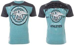AMERICAN-FIGHTER-Mens-T-Shirt-MISSOURI-Athletic-SEAFOAM-Biker-Gym-MMA-40