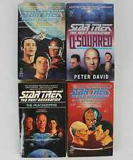 Star Trek The Next Generation TNG 1988-1995 Paperback Mixed Lot of 4