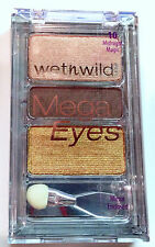 Wet n Wild Mega Eyes Eye Shadow Palette Trio # 10 Midnight Magic Discontinued