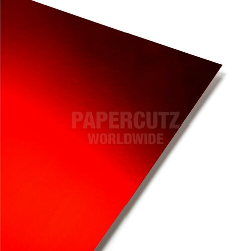 RED MIRROR A4 CRAFTING CARD 10 SHEETS