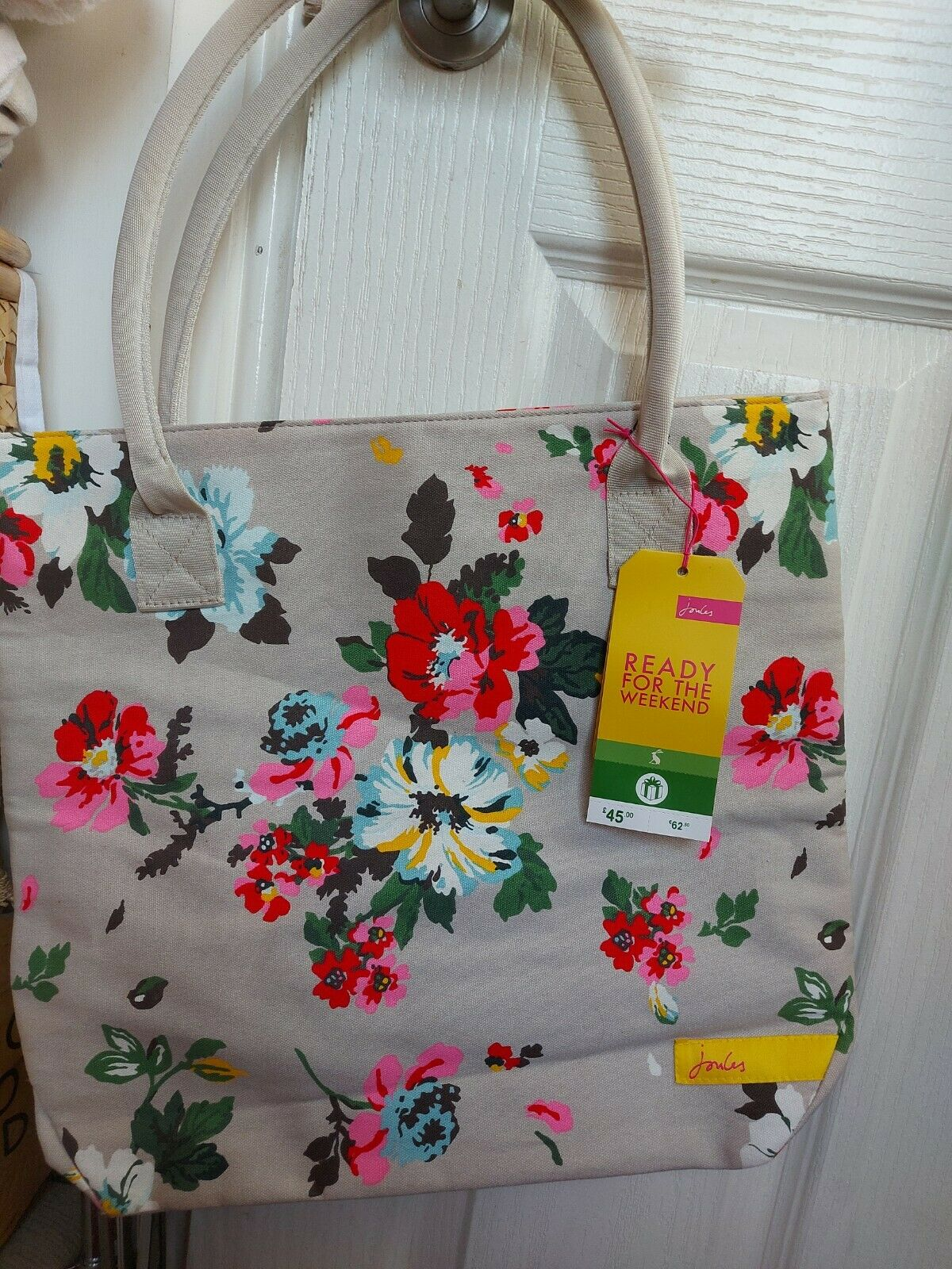 Joules Ready For The Weekend Bag floral