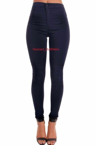 Ladies High Waisted women/'s Skinny stretchy boyfriend choice jegging jeans pants