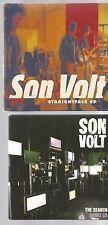SON VOLT unreleased  STRAIGHTFACE EP CD the search BONUS 2 CD's LIVE ACOUSTIC