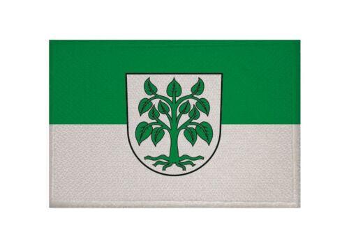Aufnäher Schutterwald Fahne Flagge Aufbügler Patch  9 x 6cm