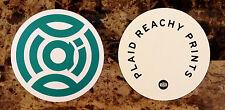 PLAID Reachy Prints Ltd Ed RARE New Sticker +FREE Electronica/Dance/EDM Stickers