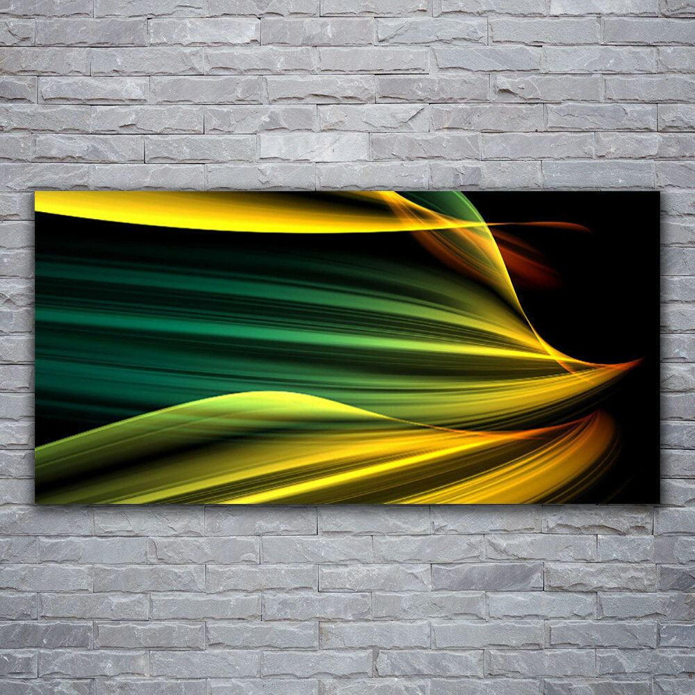 Glass print Wall art 120x60 Image Picture Abstract Art