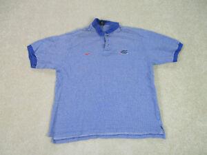 Nike-Florida-Gators-Polo-Shirt-Adult-Extra-Large-Blue-UF-Football-Mens-90s-A43