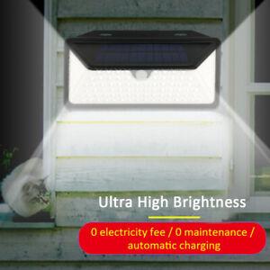 102-LED-Solar-Power-PIR-Motion-Sensor-Wall-Light-Outdoor-Garden-Security-Lamp