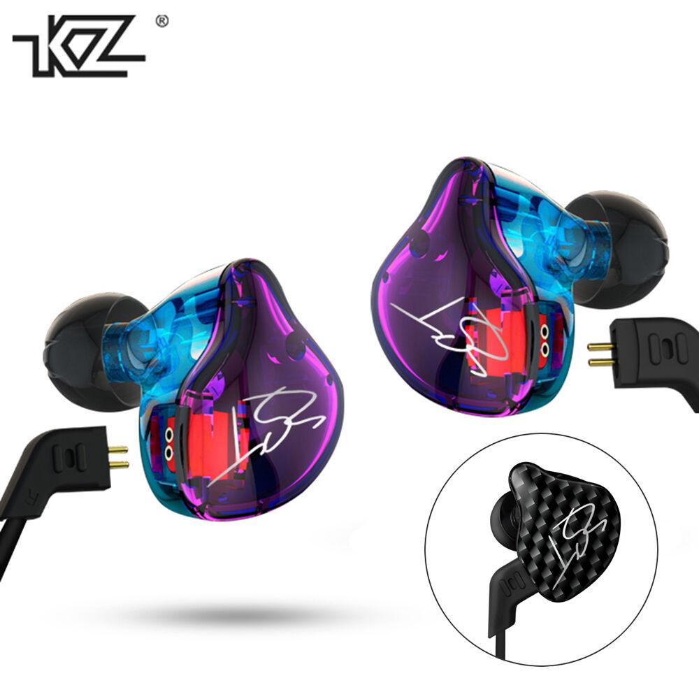 KZ-ZST Pro In-ear Super Bass Earphones Dynamic Music HIFI He