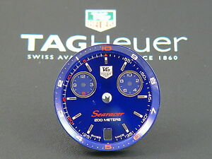 Orig-TAG-Heuer-Link-Searacer-Regatta-Man-29-8-mm-dial-Blue-dial-ring-CT1115