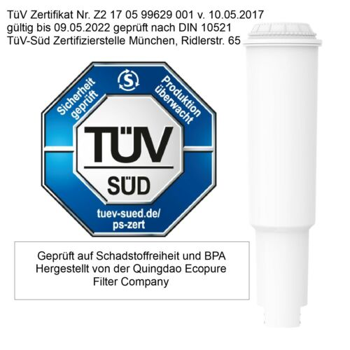Sonderangebot zur Einführung 10 x Filterpatronen kompatibel Jura white Qualität