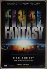 Final Fantasy Movie Spirits Within Wall Scroll Poster 1370 For