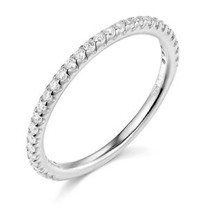 1-25-Ct-Round-Cut-Real-14k-White-Gold-Engagement-Wedding-Anniversary-Band-Ring