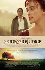 PRIDE AND PREJUDICE Movie Promo POSTER D Keira Knightley Talulah Riley