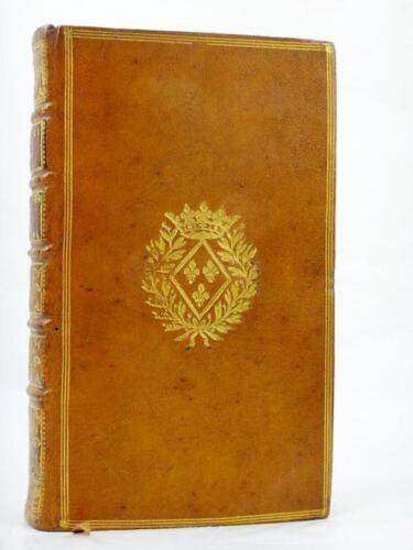 Reliure-aux-armes-de-MADAME-SOPHIE-DE-FRANCE-Fille-LOUIS-XV-1742-Charles-VIII