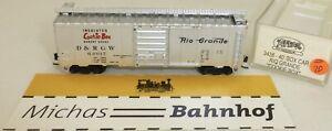 Cookie Box Rio Grande 60017 40' Box Car Atlas 3438 N 1:160 # = 20/23 å-afficher Le Titre D'origine