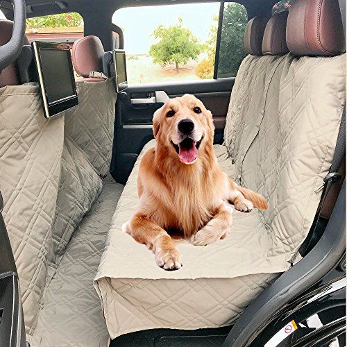 Quilted Rear Pet Dog Seat Cover Hammock For MERCEDES-BENZ C-CLASS ESTATE 08-ON