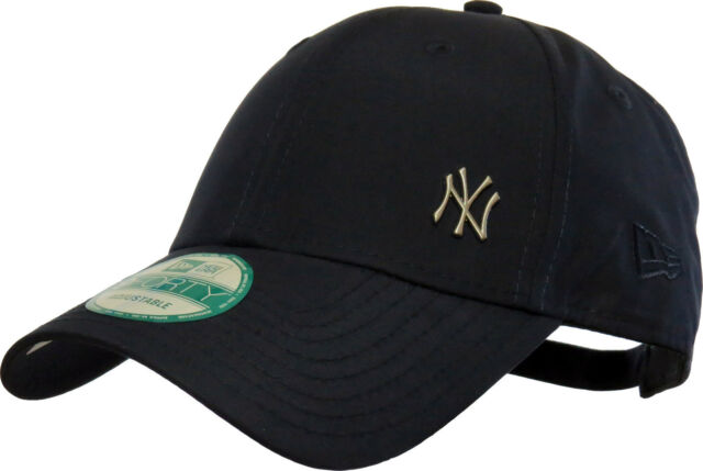 Era MLB Flawless Logo 9forty Adjustable Cap NY Yankees Dark Blue One Size  for sale online  7dad7dc5f53