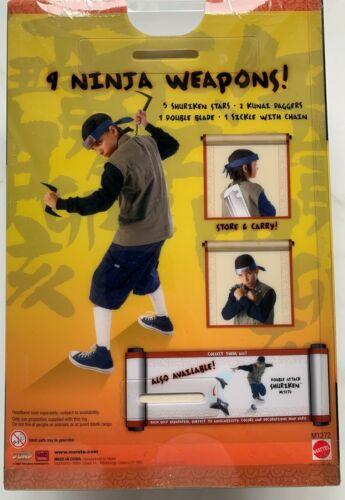 Naruto Shonen Jump Ninja 9 Weapons Pack Mattel Shuriken Stars Daggers Blade