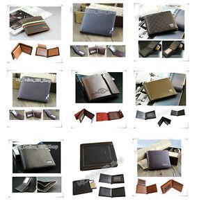 Mens-Wallet-Leather-Bifold-Slim-Fashion-Short-Wallets-Purse-Card-Case-Pouch-Man