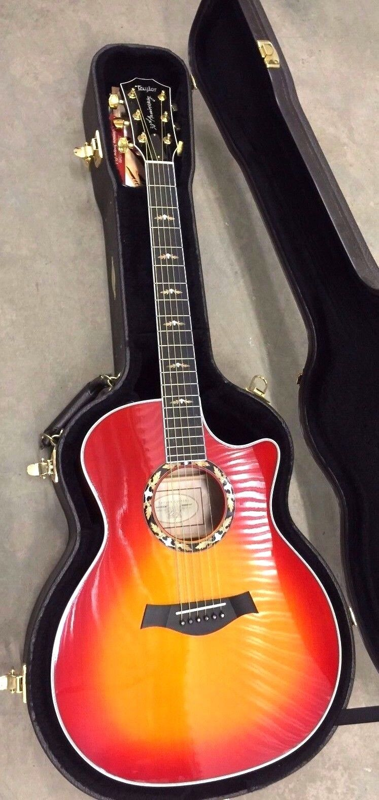 Taylor 614CE L30 30th Annivesary Limited Ed. ROT Acoustic Electric Guitar 2003