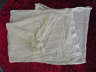 Stocking bag inner liner for bean bags net for beanbag filling