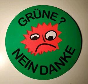 Details Zu 50x Aufkleber Grüne Nein Danke 10cm Anti Klimawahn Verbotspartei Vielflieger