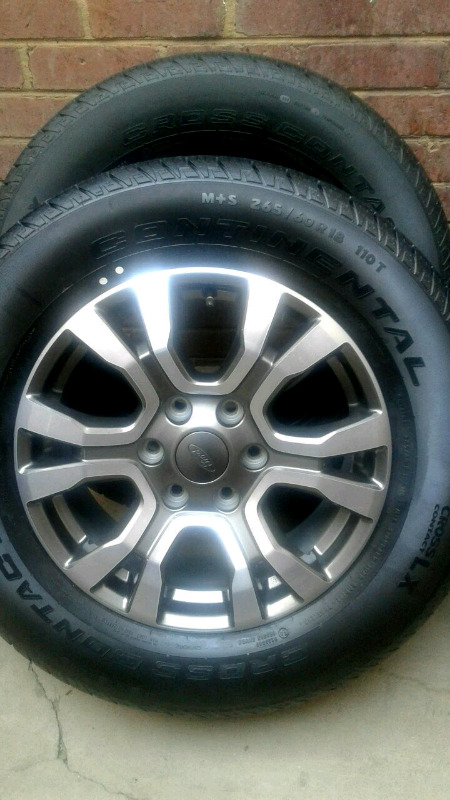 "18"" FORD RANGER WILDTRACK RIM/TYRE"