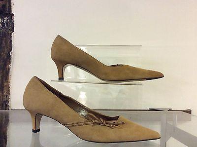 Bruno Magli Camel ante Tribunal Zapatos Talla 36 Reino Unido 3