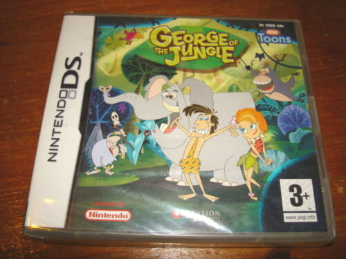 1 of 1 - GEORGE OF THE JUNGLE ** NEW & SEALED **  Nintendo Ds Game