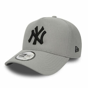 21c70c26 Details about New Era MLB Diamond A-Frame New York Yankees Cap Grey OSFA