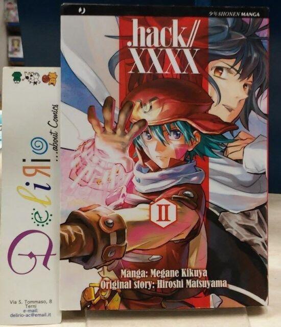 HACK//XXXX N.2  Ed.J-POP  SCONTO 5%