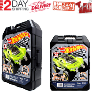 48-Hot-Wheels-Car-Carrying-Case-Vehicles-Matchbox-DieCast-Organizer-Storage-Box