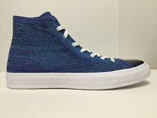 15858a3f303a Converse Chuck Taylor All Star X Nike Flyknit High Top Blue 157507C Mens  Size 11